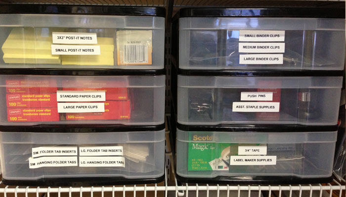 SAVE TIME SAVE MONEY BY ORGANIZING YOUR OFFICE SUPPLIES